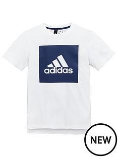 adidas-older-boys-logo-panel-tee