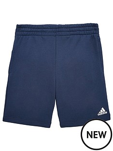 adidas-older-boys-logo-short