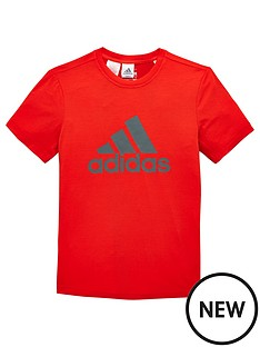 adidas-older-boys-training-logo-tee