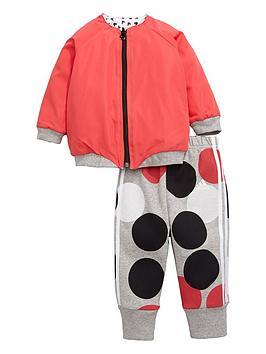 Adidas Adidas Baby Girls Reversible Disney Tracksuit