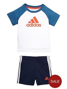 adidas-baby-boys-logo-shorts-set