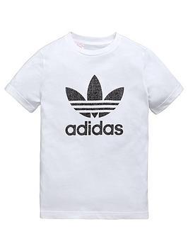 Adidas Originals Adidas Originals Older Boys Texture Trefoil Tee