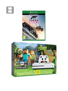 xbox-one-s-500gb-minecraft-favourites-bundle-with-forza-horizon-3-and-extra-controller