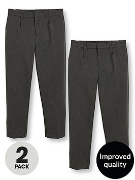 v-by-very-schoolwearnbspboys-classic-woven-plus-fit-school-trousers-grey-2-pack