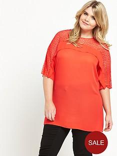 so-fabulous-lace-amp-frill-yoke-tunic-orange