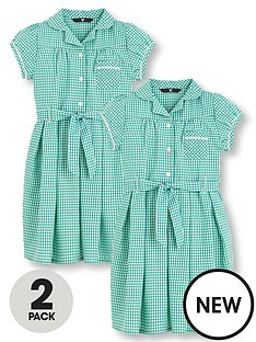 v-by-very-schoolwear-girls-pk2-traditional-gingham-dress