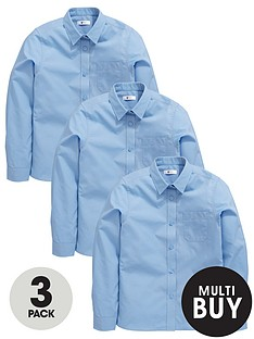 v-by-very-schoolwear-girls-long-sleeve-school-blouses-blue-3-pack