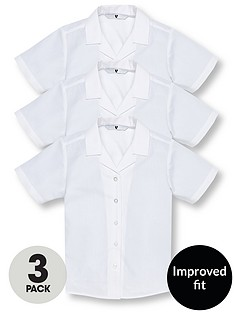 v-by-very-schoolwear-girls-pk3-revere-ss-blouse