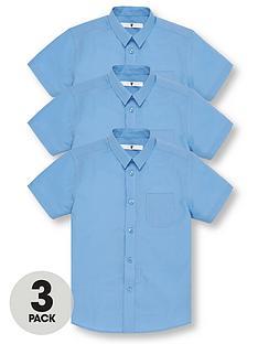 v-by-very-boys-3-pack-short-sleeve-school-shirts-blue