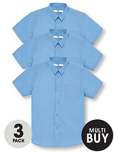 v-by-very-schoolwearnbspboys-short-sleeve-school-shirts-blue-3-pack