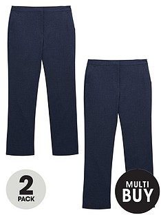 v-by-very-schoolwear-girls-woven-regular-fit-school-trousers-navy-2-pack