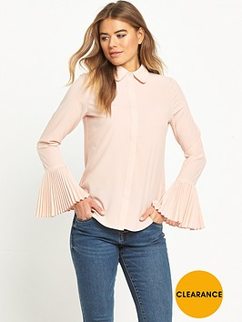 lost-ink-pleated-cuff-shirt-pink