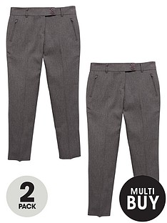 v-by-very-schoolwear-girls-pk2-skinny-trousers-plus-fit