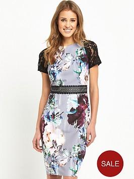 little-mistress-floral-bodycon-dress-with-crochet-lace-trim-waist