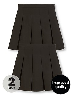 v-by-very-girls-2-pack-classic-pleated-woven-school-skirts-plus-fit