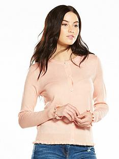 v-by-very-supersoft-ruffle-detail-cardigan