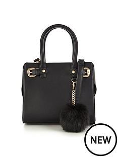 v-by-very-mini-tote-bag-with-pom-pom-detail