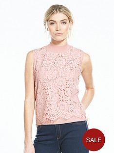 v-by-very-lace-front-turtleneck-knitted-vest