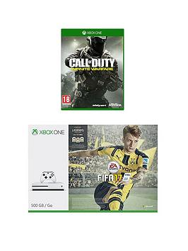 Xbox One S 500Gb Xbox One S 500Gb Console With Fifa 17 Call Of Duty Infinite Warfare And 12 Months Live Subscription