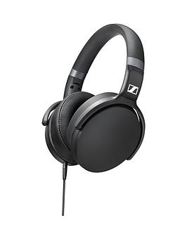 Sennheiser Hd 4.30 OverEar Headphones With Mic For Apple Ios  Black