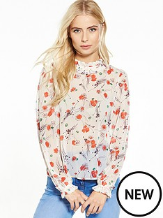 v-by-very-floral-print-high-neck-blouse