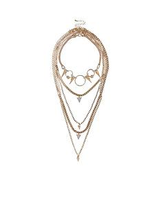 river-island-spike-circle-chain-choker