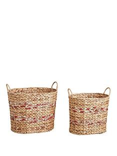 oval-water-hyacinth-storage-baskets-set-of-2