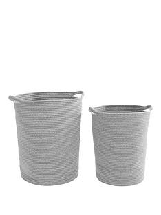 set-of-2-round-woven-cotton-rope-laundry-baskets