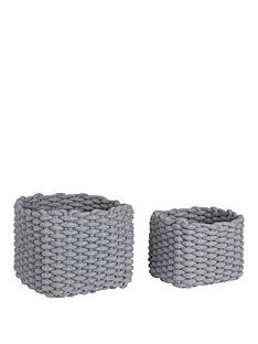 set-of-2-cotton-rope-baskets