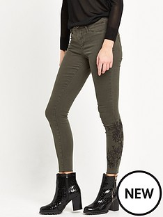 river-island-molly-jegging-with-embroidery-khaki