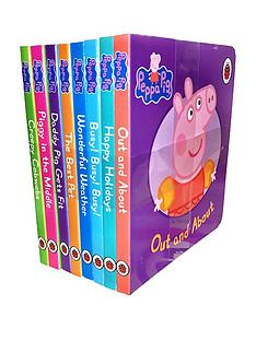 peppa-pig-peppa-pig-children039s-picture-flat-8-board-books-set