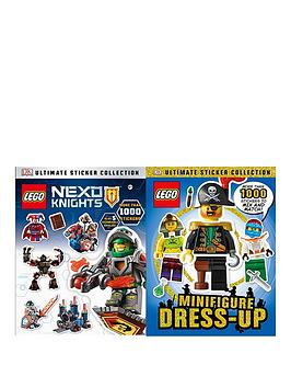 Lego Lego Nexo Lights &Amp Minufigure DressUp Book