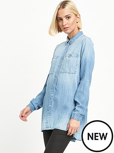 river-island-denim-shirt