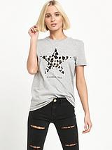 Leopard Star Tshirt