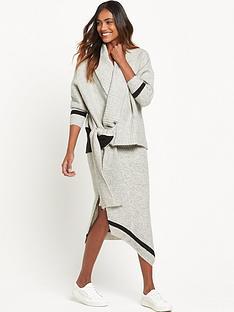 ri-studio-knit-wrap-cardigan-grey