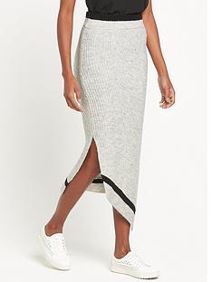 ri-studio-knit-asymmetric-wrap-skirt-grey