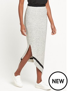 ri-studio-knit-asymmetric-wrap-skirt-grey