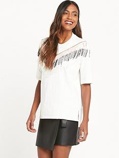 river-island-short-sleeve-jumbo-t-shirtnbspwith-tasselnbspdetail-white