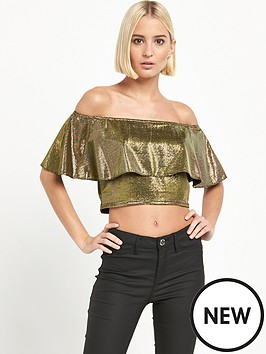 river-island-bardot-frill-crop-top