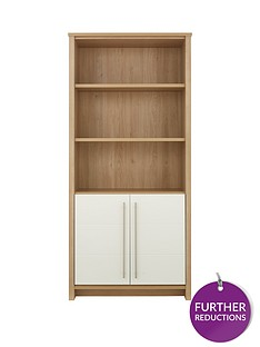 consort-suri-ready-assembled-bookcase-with-2-door-cupboard