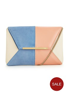 dune-batch-suede-clutch-bag