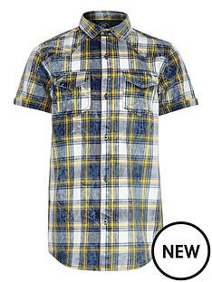 river-island-boys-blue-and-yellow-check-short-sleeve-shirt
