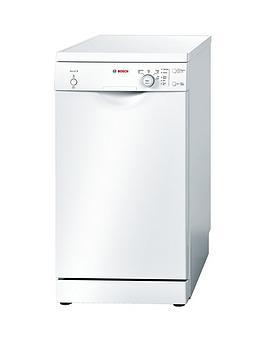 Bosch Sps40E32Gb 9Place Settings Slimline Dishwasher  White