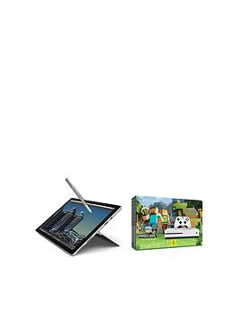 microsoft-surface-pro-4-intelreg-coretrade-i7-processor-16gb-ram-1tb-solid-state-drive-123-inch-tablet-with-xbox-one-s-500gb-console-and-minecraft-favourites