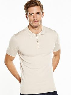 v-by-very-short-sleeve-merino-knitted-polo