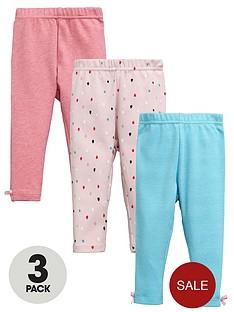 ladybird-baby-girlsnbsp3pknbspleggings