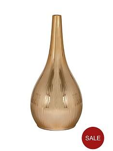metallic-vase