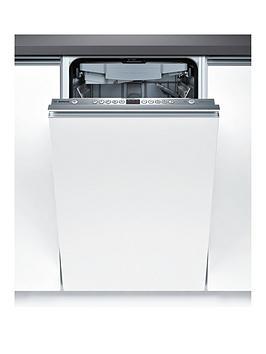 Bosch Activewater Spv69T00Gb 45Cm Wide Slimline Integrated Dishwasher