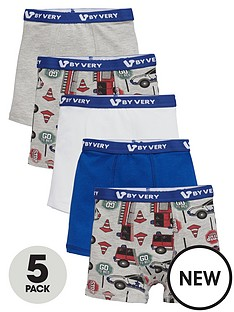 mini-v-by-very-toddler-boys-emergency-services-5pk-trunks