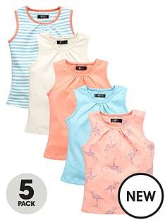 mini-v-by-very-toddler-girls-5pk-flamingo-vests